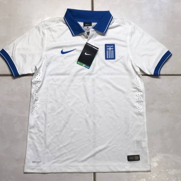 brand new 3a518 2eb20 NIKE Greece National Team 2014 Jersey Youth Large NWT